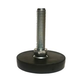 Stellfuß M12x50mm, schwarz